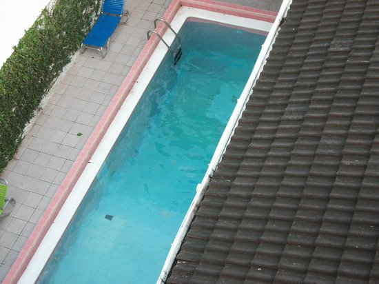Alicia's Palace: pool view from room