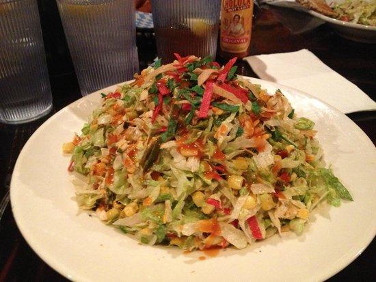 Big Dog's Draft House: The Big Dog Salad - A Las Vegas Must