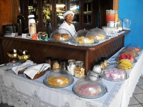 Hotel Pousada Marambaia : Desayuno