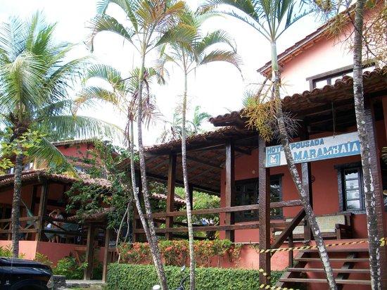 Hotel Pousada Marambaia : Entrada