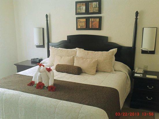 Allegro Cozumel: Bedroom of Studio suite # 5711