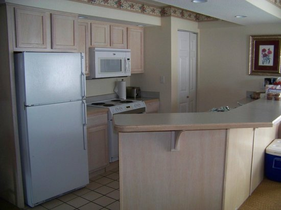 Suites at Fall Creek: Full Kitchen - has separate dining area