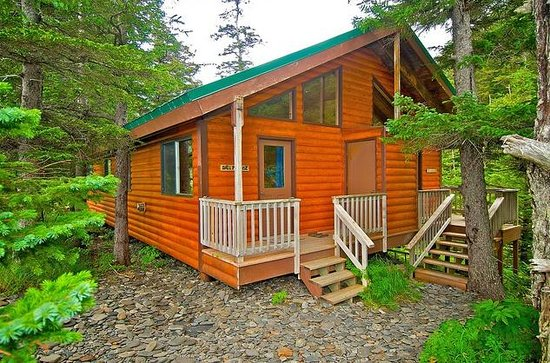 Kenai Fjords Wilderness Lodge cabin