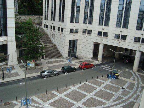 Novotel Paris Pont de Sevres: Vista do apartamento