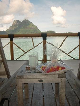 Bora Bora Pearl Beach Resort & Spa: Our last day