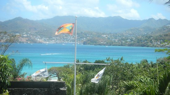 Mount Cinnamon Resort & Beach Club : View from outside the Room