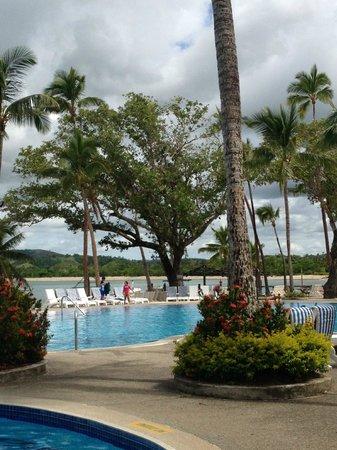 Shangri-La's Fijian Resort & Spa: One of the three pools