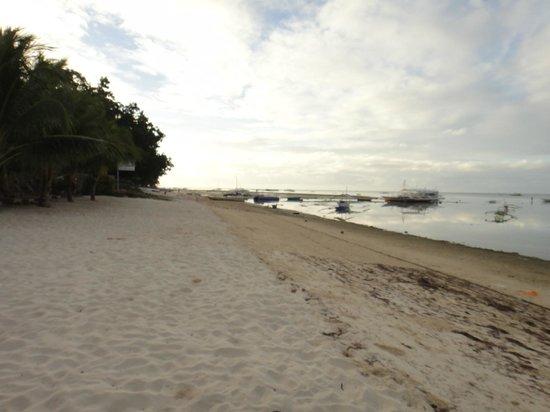 Linaw Beach Resort and Restaurant: the beach