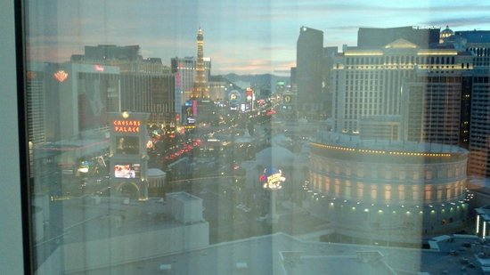 The Mirage Hotel & Casino: View from room.