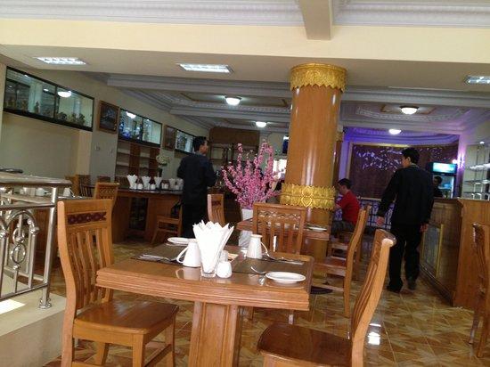 Smart Hotel: Restaurant area