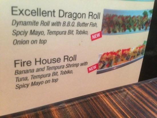 sushi Hour: yummy special rolls!