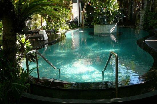Rumah Santai Villas: Pool area