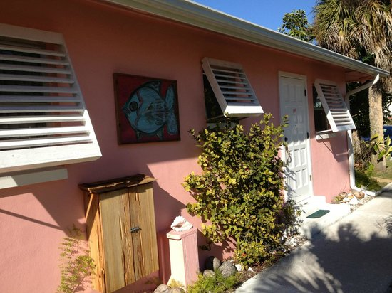 West-End Paradise: Another view outside the Pink Shell Room