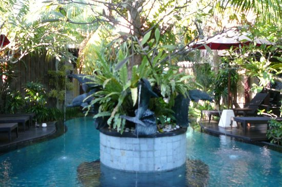 Rumah Santai Villas: Pool area
