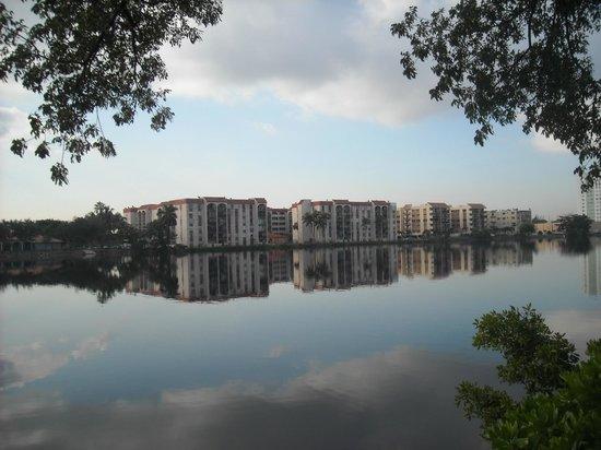 Hilton Miami Airport Blue Lagoon: A la mañana