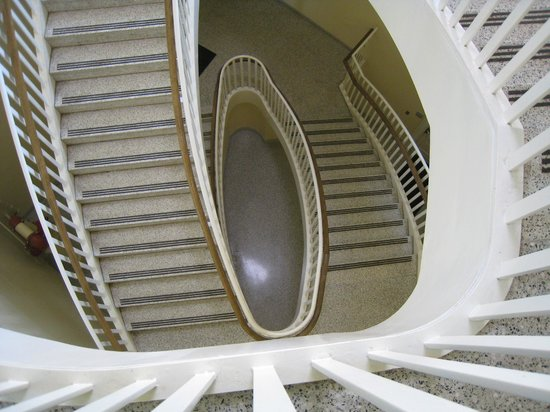 The Johns Hopkins University: Spiral Stairway Inside Gilman Hall