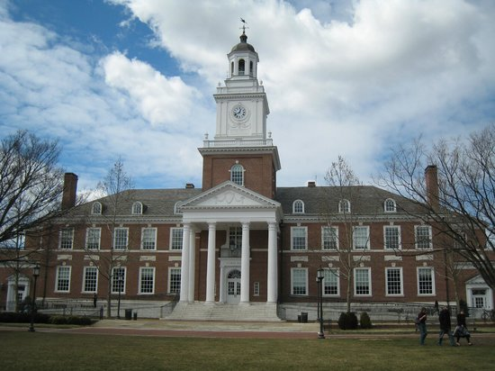 The Johns Hopkins University : Gilman Hall