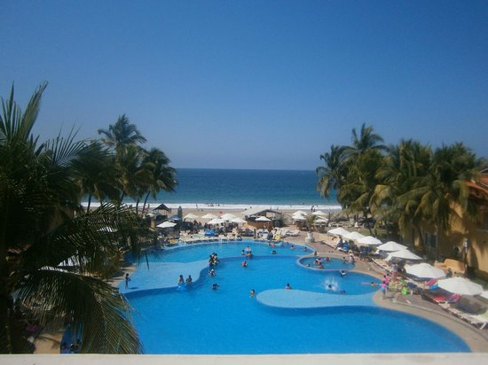 Tesoro Ixtapa: View from our room