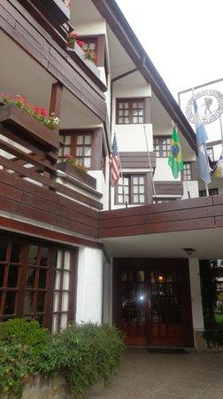 Hotel Del Viejo Esquiador: desde el frente del hotel