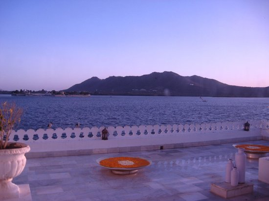 Taj Lake Palace Udaipur: room with a view