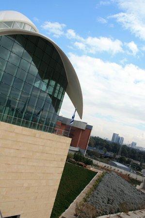 Yitzhak Rabin Center: Architect Moshe Sapdie