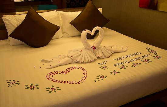 Avista Phuket Resort & Spa: Special room decoration