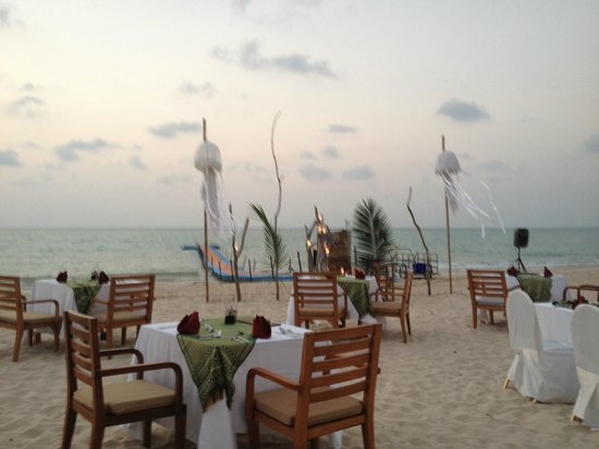 The Sarojin: A night put on by the hotel for a bbq for any guests