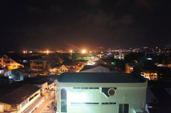 El Viajero San Andres Hostel & Suites: Vista desde el bar 2