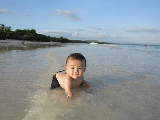 Amarela Resort: beach!