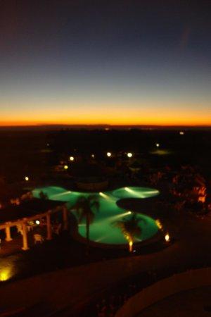Howard Johnson Hotel Resort Villa de Merlo: Vista desde la habitación