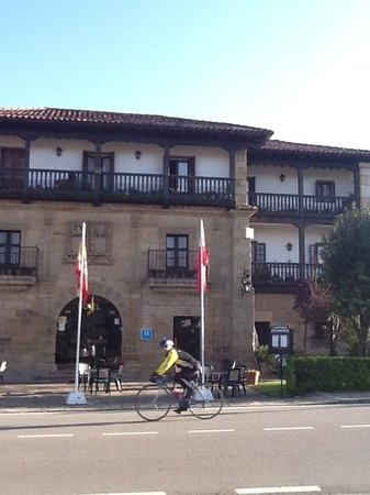 Hotel Museo Los Infantes: easy to spot