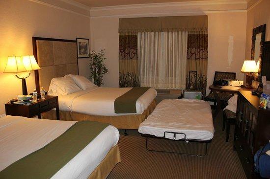 Arcata/Eureka Holiday Inn Express: 家族でもOK