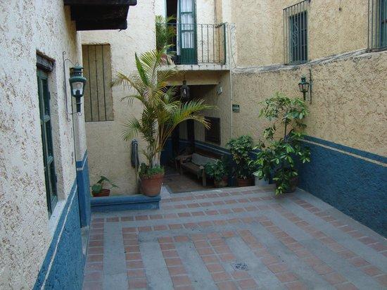 La Casa De Sancho: PATIO DEL HOTEL