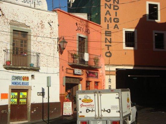 La Casa De Sancho : VISTA DEL HOTEL