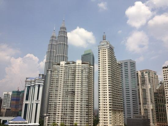 Concorde Hotel Kuala Lumpur: View from 1314
