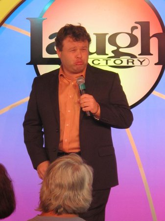 Laugh Factory: Frank Caliendo poped up to do a guest set...