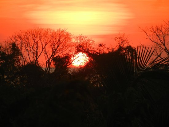Hotel Luna Azul: Sunset