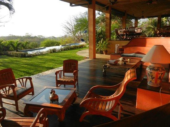 Hotel Luna Azul: Morgenstimmung