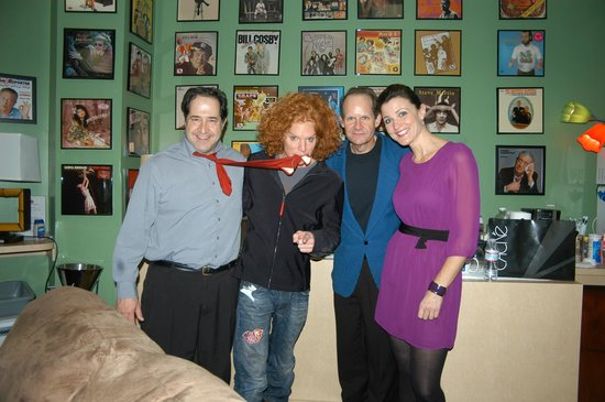 Laugh Factory: Hangin' in the GREEN ROOM with comedy superstar Carrot Top