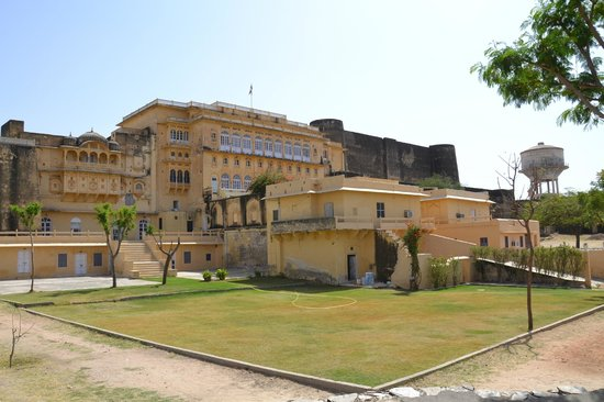 Kishangarh, India: Hotel Grounds