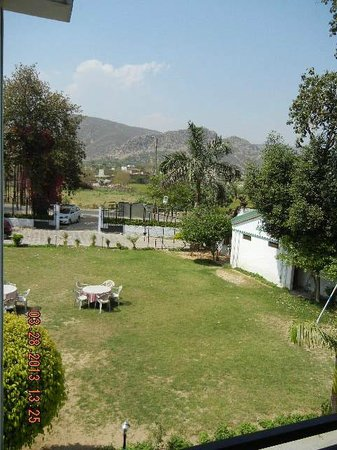 Amrit Resort: View from the balcony