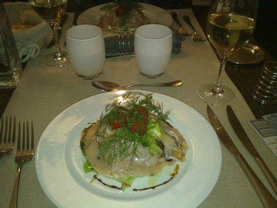 La Gerbe d'Or : cena