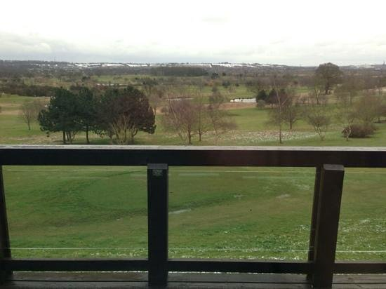 QLodges, Belton Woods: frommthe balcony