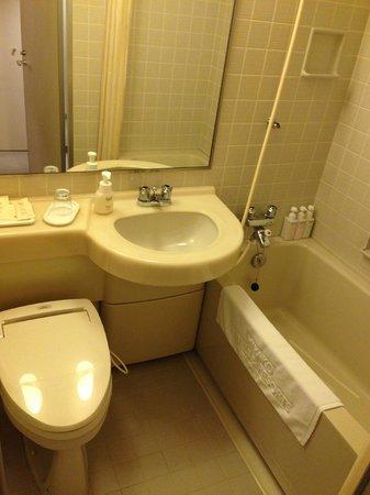 Miyako Hotel New Archaic: ユニットバス
