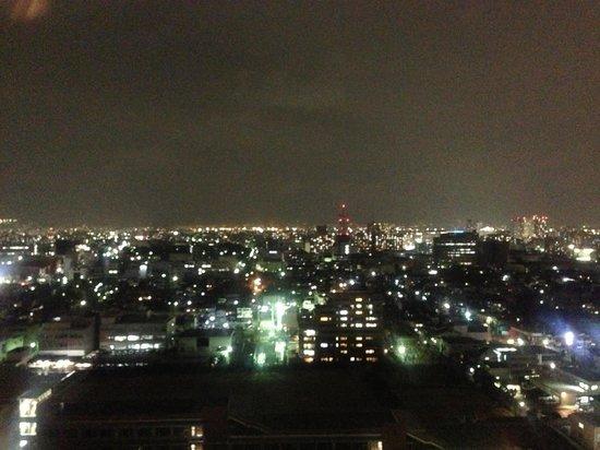 Miyako Hotel New Archaic: 夜景