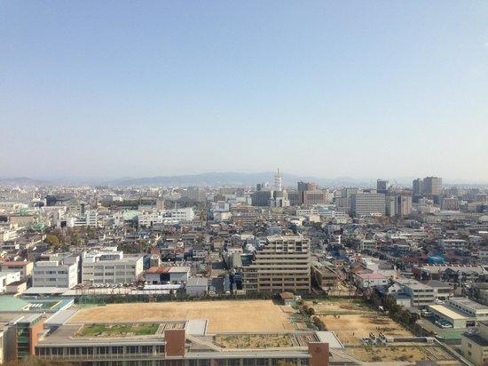 Miyako Hotel New Archaic: 山側の眺望