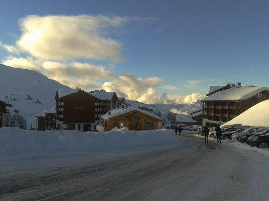 La Plagne Ski Resort: Plagne Soleil