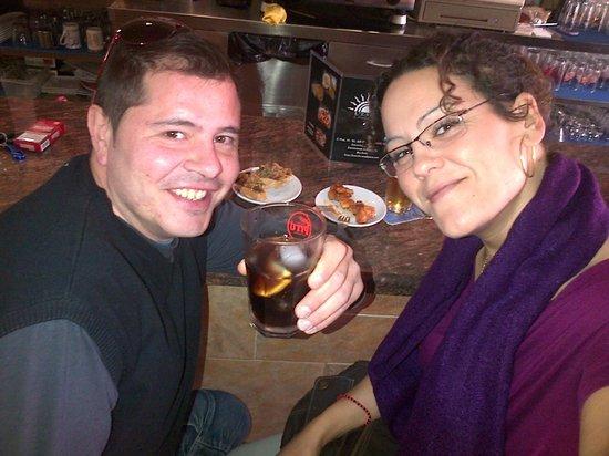 Cervecería ESTIU Bar: Uno de tantos buenos momentos en Bar Estiu   ;)