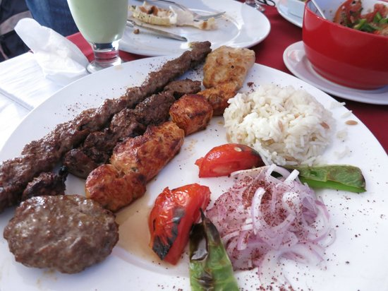Grand Lounge Turkish Cuisine: Mixed Grill
