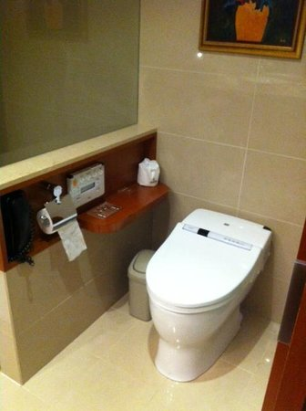San Want Residences: Japanese toilet